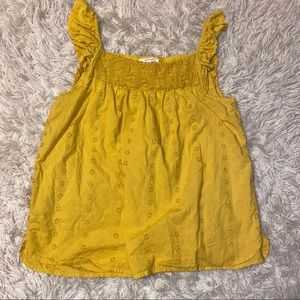 MAURICES Yellow Tank top